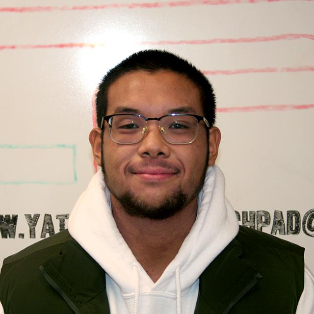 Youth Engagement Coordinator Nicholas Manglal-lan